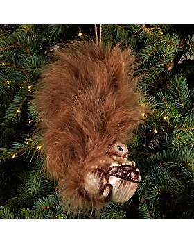 Bloomingdale's - Acorn Squirrel Glass Ornament - 100% Exclusive