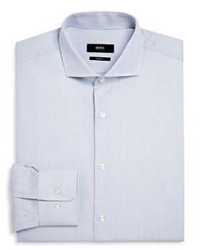BOSS - Dash Dobby Regular Fit Dress Shirt