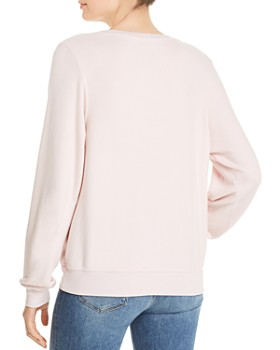 WILDFOX - Baggy Beach Moody Lips Sweatshirt