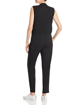 Enza Costa - Sleeveless Cropped Jumpsuit
