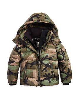 SAM. - Unisex Camo Glacier Down Jacket - Big Kid
