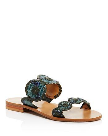 Jack Rogers - Women's Lauren Snake-Print Sandals