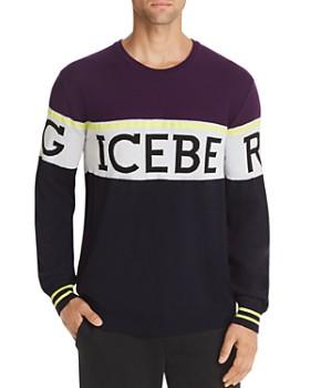 Iceberg - Logo Striped Sweater