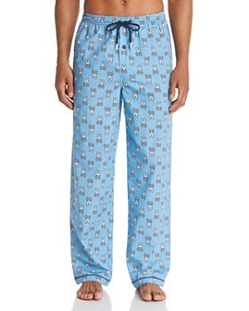 Psycho Bunny - Logo-Print Pajama Pants