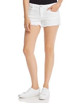 7ac6be835b82 BLANKNYC - Distressed Denim Cutoff Shorts in Great White ...
