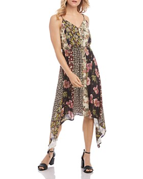 Karen Kane - Mixed-Print Cami Dress