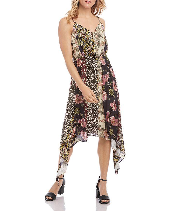 Karen Kane - Mixed-Print Cami Dress