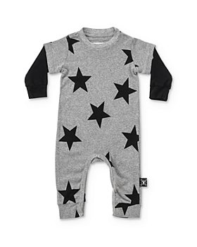 NUNUNU - Unisex Layered-Look Star Playsuit - Baby