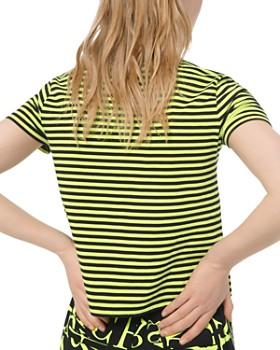 MICHAEL Michael Kors - Striped Jersey Tee