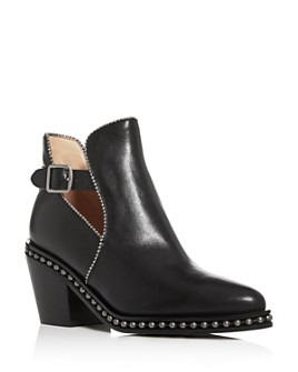 COACH - Women's Pipa Beadchain Block-Heel Booties