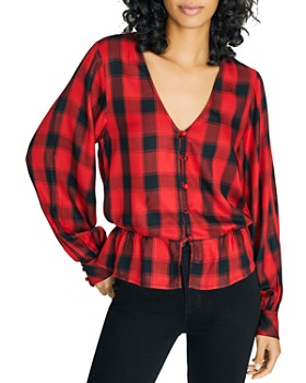 Sanctuary - Jasper Buffalo Check Blouse