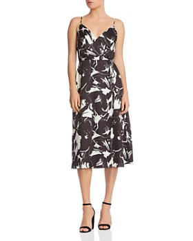 Bailey 44 - Andi Faux-Wrap Midi Dress