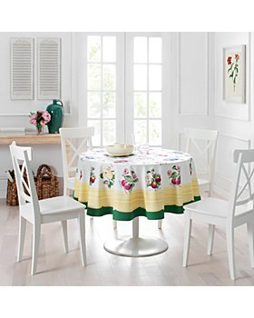 Villeroy & Boch - French Garden Round Tablecloth, 70""