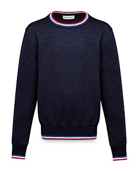 Moncler - Unisex Contrast-Stripe Sweater - Little Kid