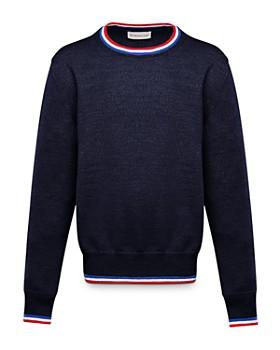 Moncler - Unisex Contrast-Stripe Sweater - Big Kid