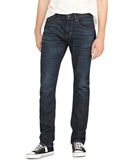 Hudson - Blake Slim Straight Fit Zip Fly Jeans in Victory