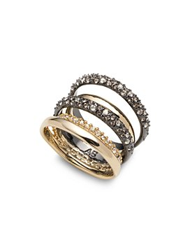 Alexis Bittar - Pavé Orbit Crystal-Encrusted Layered Ring