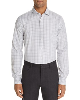 The Men's Store at Bloomingdale's - Bi-Color Plaid Classic Fit Shirt - 100% Exclusive
