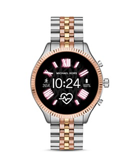 Michael Kors - Lexington 2 Link Bracelet Touchscreen Smartwatch, 44mm