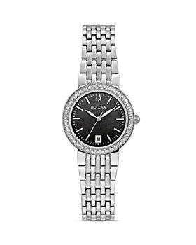 Bulova - Classics Diamond Black Mother-of-Pearl Dial Watch, 26mm
