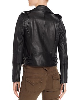 eefcdabe5 Women's Leather, Suede, and Shearling Coats - Bloomingdale's