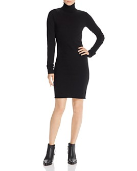 Helmut Lang - Wool-Blend Turtleneck Dress