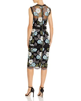 BRONX AND BANCO - Palette Pencil Embroidered Lace Midi Dress - 100% Exclusive