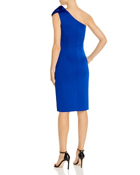 Eliza J - Ruffle-Front One-Shoulder Dress
