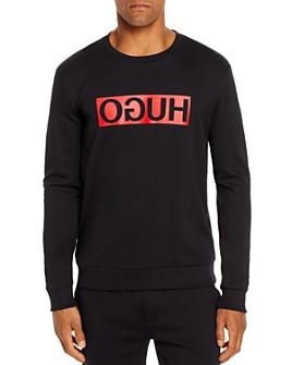 HUGO - Dicago Reverse Logo Graphic Sweatshirt
