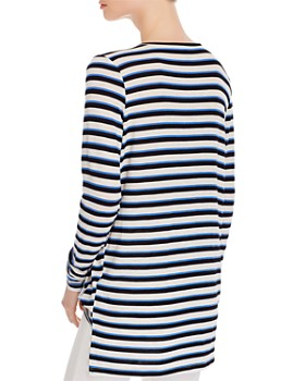 Vero Moda - Kia Striped Faux Wrap Top