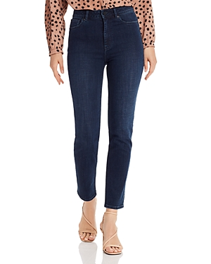 Rebecca Taylor Jeans CLEMENCE SKINNY ANKLE JEANS IN BLACKENED INDIGO
