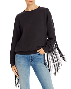 Levi's - Ashley Fringed Pullover Sweatshirt