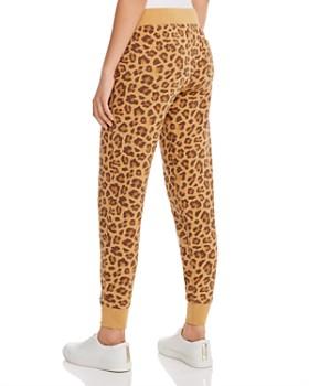 ALTERNATIVE - Leopard Print Fleece Jogger Pants - 100% Exclusive