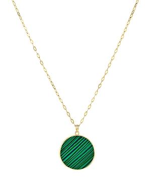 Argento Vivo Disc Pendant Necklace, 24-Jewelry & Accessories
