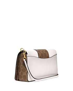 COACH - Dinky Coated Canvas & Leather Crossbody