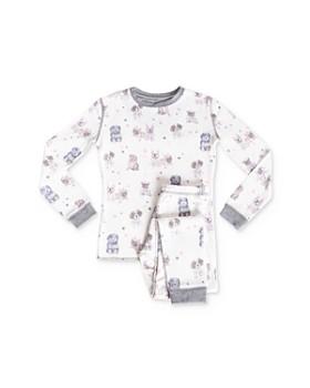 PJ Salvage - Girls' Dog Tee & Pants Pajama Set - Little Kid, Big Kid