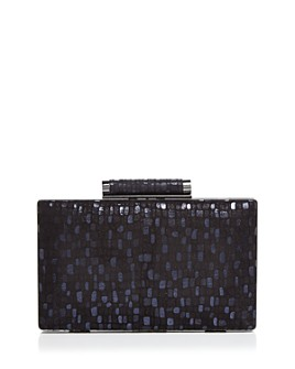 Sondra Roberts - Patterned Box Clutch