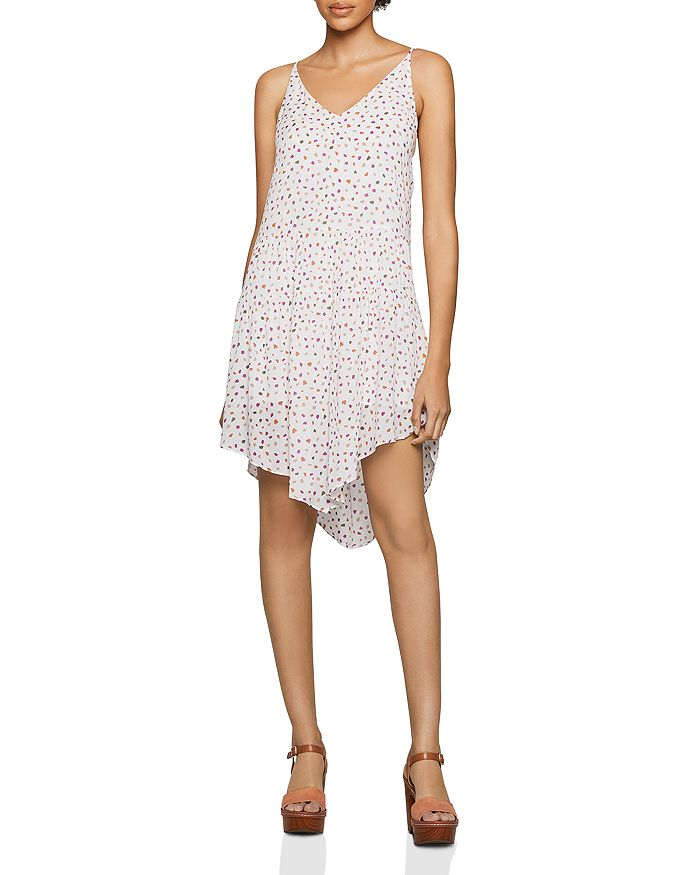 BCBGENERATION - Dot Print Shift Dress