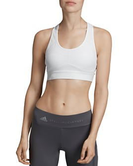 adidas by Stella McCartney - Essentials Mesh-Back Sports Bra