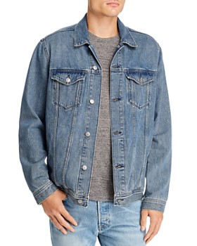 Mavi - Drake Slim Fit Denim Jacket in Mid Indigo Vintage