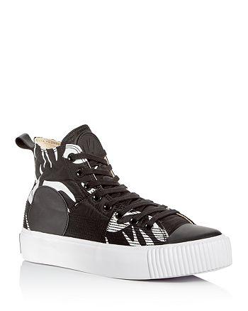 McQ Alexander McQueen - Men's Nylon Platform High-Top Sneakers