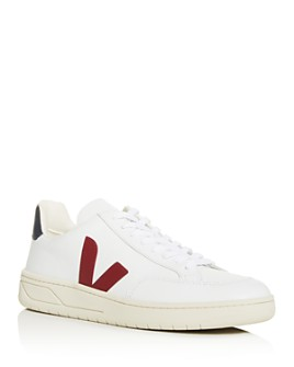 VEJA - Men's V-12 Leather Low-Top Sneakers
