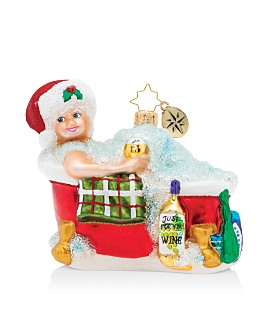 Christopher Radko - Time for Pampering! Ornament