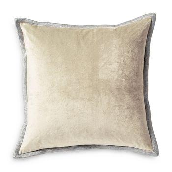 "Michael Aram - Velvet Metallic Embroidered Decorative Pillow, 18"" x 18"""