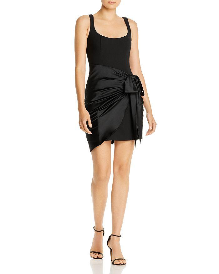 Cinq à Sept - Waverly Silk-Overlay Mini Dress