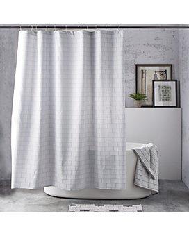DKNY - Subway Tile Shower Curtain
