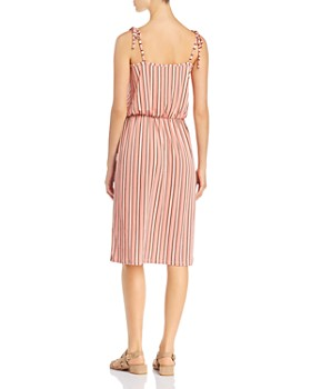 Leota - Irene Sleeveless Striped Dress