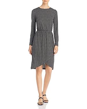 Leota Dresses LONG-SLEEVE PRINTED DRESS