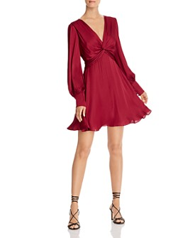 Bardot - Claire Twist-Front Dress
