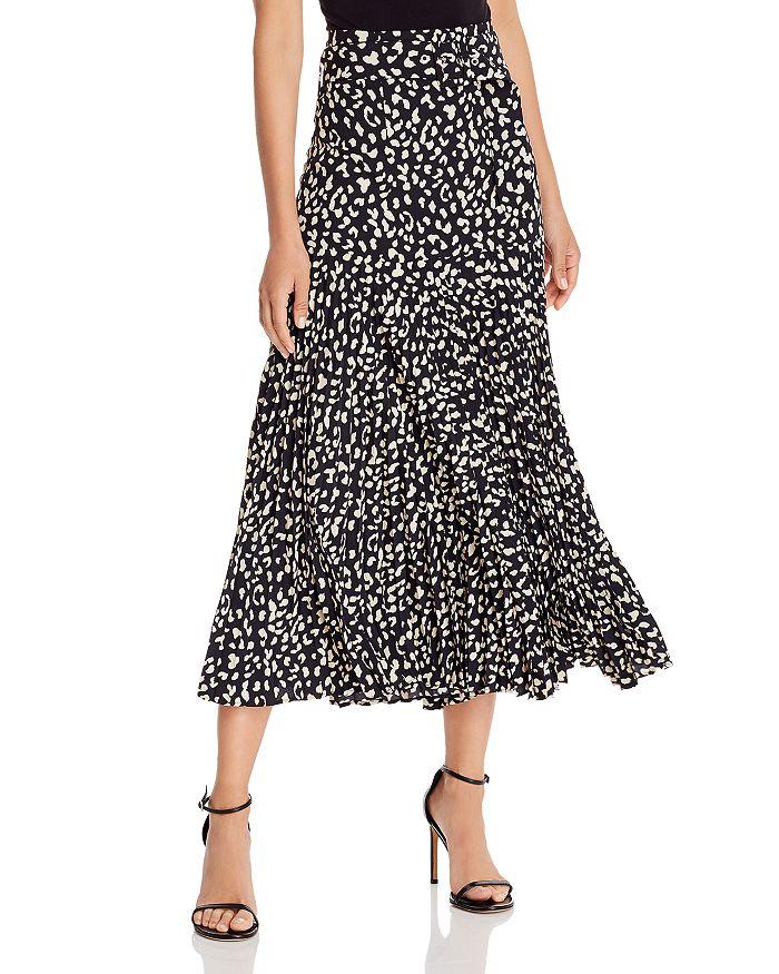 Bardot - Belted Pleated Midi Skirt